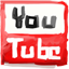 Youtube hand drawn icon