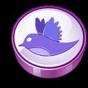 Twitter purple cooky-128