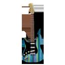 Stratocaster guitar stripes-128