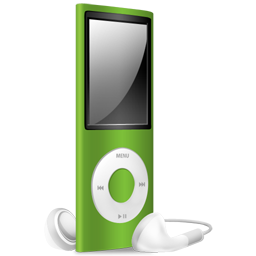 iPod Nano green off