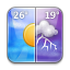 Weather iPhone icon