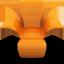 Orange Seat icon