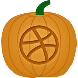 Dribbble Pumpkin