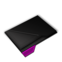 Empty Folder Purple-128