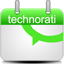 Calendar Technorati icon