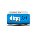 Digg It blue-128