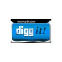 Digg It blue-128