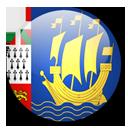 Saint Pierre and Miquelon Flag-128