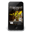 Black iPhone 4 wall-128