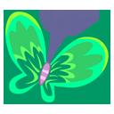 Green Butterfly-128