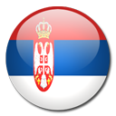 Serbia Flag-128