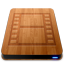 Wooden Slick Drives Movies icon