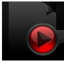 File Media black red-128