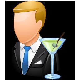 Bartender Male Light