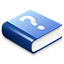 Blue Help Book icon