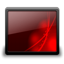 Desktop black red-128