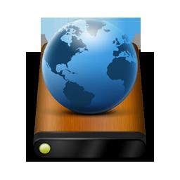 Wood Drive Globe
