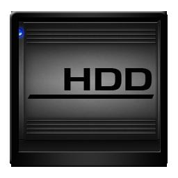 Black HDD