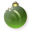 Feed Christmas Green icon