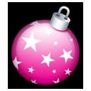 Christmas ball pink-128