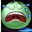 Crying emoticon Icon