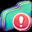 Important Green Folder icon