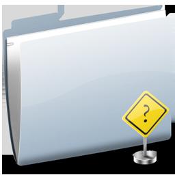 Folder Sign Question