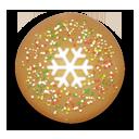 Christmas Snow Cookie