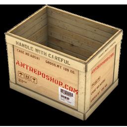 Wood Box Opened