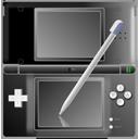 Nintendo DS black with pen-128