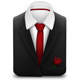 Red Tie   Rose