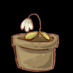 Recycle Bin Flower Full