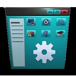 Control Panel blue