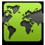 Internet green icon