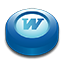 Microsoft Office Word puck icon
