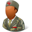Armynurse Male Dark Icon