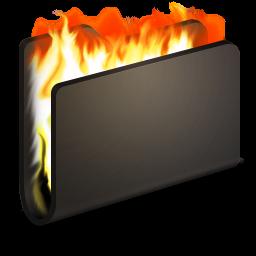 Burn Black Folder