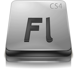 Adobe Flash CS4 Gray