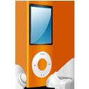iPod Nano orange on-128
