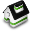 Home green icon