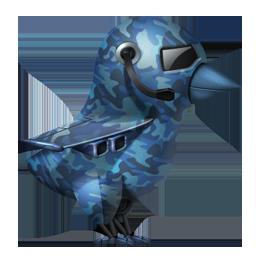 Military Twitter Bird