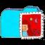 Folder b mail icon