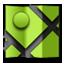 Mapsalt green icon