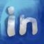 Linkedin hand drawned Icon