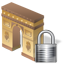 Arch of Triumph Lock icon