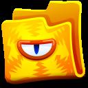 Creature Yellow Folder-128