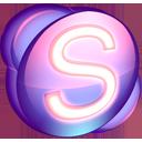Skype purple-128