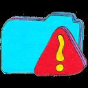 Folder b warning-128