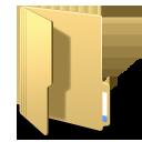 Folderopened yellow-128