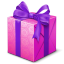Purple box icon